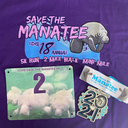 Save the Manatee Virtual 5K packet