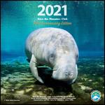 2021 Save the Manatee Club calendar