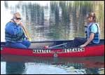 Manatee Research Canoe