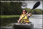Kayaker on a Florida waterway